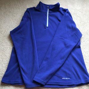 Eddie Bauer, Large, Blue, Pullover